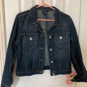 Ann Taylor jean jacket Levi style size m